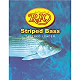 Rio Fly Fishing Striped Bass 7′ 16Lb 7.3kg Fishing Leaders, Clear Review