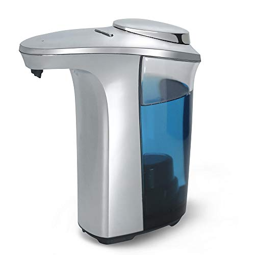 RABBITGOO Automatic Soap Dispenser, Touch-Less Battery Operated, Infrared Motion Sensor - 17oz/500ml Large Capacity Perfect for Kitchen and Bathroom