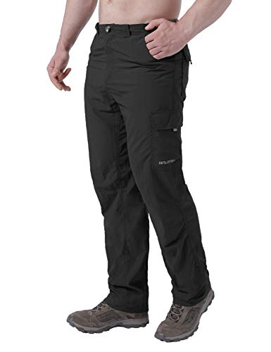 Baleaf Men's Hiking Cargo Pants Sun Protection UPF 50+ Quick Dry