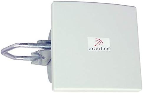 Antena de panel de 2,4 GHz 8 dBi gnia. RP-SMA MicroStrip (INT ...