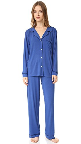 Eberjey Women's Gisele PJ Set, Lapis, Small