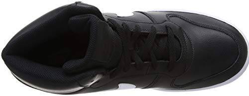white Ebernon Mid 002 Negro black Hombre Nike Altas Zapatillas Para 6qwqC8a