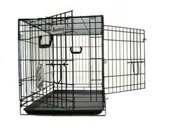 Pet Tek DPK86005 Dream Crate Professional Series 500 Dog Crate, 42 by 28 by 31-Inch, Black