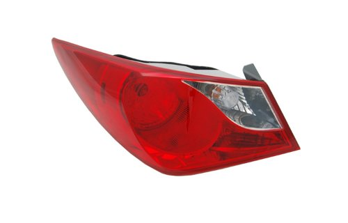Fits Hyundai Sonata 11 12 2011 2012 Rear Tail Light With Bulb 92401-3Q000 Lh