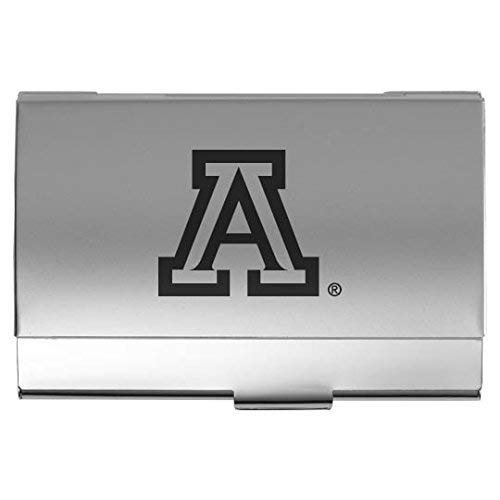 (LXG, Inc. University of Arizona - Two-Tone Business Card Holder - Silver)