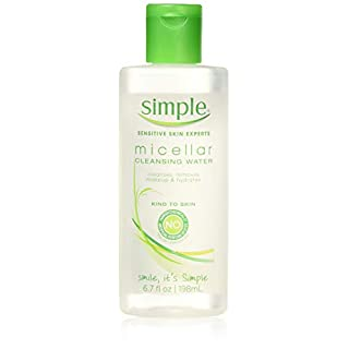 Simple Micellar Cleansing Water, 6.7 Ounce (3 Pack)