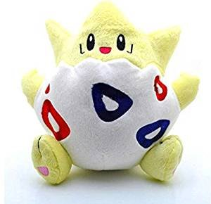 Togepi Cute Soft Cuddly Plush Toy Colorful, 8