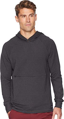 - Hurley Men's Nike Dri-Fit Offshore Fleece Hoodie, Black Heather, XL