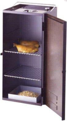 BE-TACKLE 【すぐに使えるスモーカーセットです!】燻製器ロビン&チップサクラ4袋セット(温度計付!) B0097QN7FS