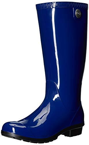 UGG Women's Shaye Rain Boot, Blue Jay, 10 B US]()