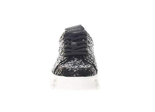 Sneaker Belle Nero Premiata Micropaillettes In Donna 7Adpvq5
