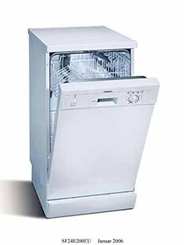Siemens SF 24 E 200 EU Independiente 9cubiertos C lavavajilla ...