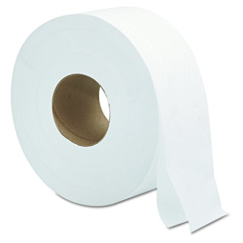 2 Roll Toilet Paper - General Supply 9JUMBO Jumbo Roll Bath Tissue, 2-Ply, 9