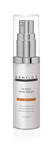 DRMTLGY Acne Spot Treatment and Cystic Acne Treatment. Acne Serum with Micronized Benzoyl Peroxide 5 and Glycolic Acid