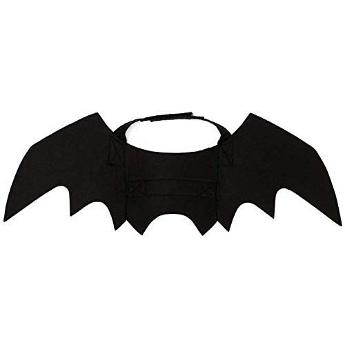D-ModernPet Dog Dress Halloween Costume for Pet Black