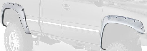 Bushwacker 40052-02 Chevrolet/GMC Cut-Out Fender Flare - Rear Pair