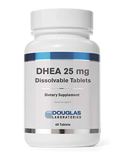 Douglas Laboratories - DHEA 25 mg - Micronized to Support Immunity, Brain, Bones, Metabolism and Lean Body Mass* - 60 Tablets