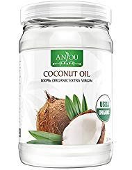 Coconut Oil 32 oz, Anjou Organic Extra Virgin