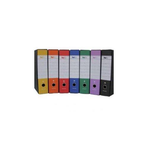 Starline STL4000S Raccoglitore Formato Protocollo Dorso, 8 cm, Blu Office Distribution