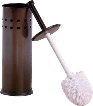 Amazon.com: home-it Escobillero Bronce baño cepillo para ...