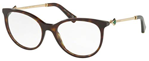 Bvlgari Women's BV4149KB Eyeglasses Dark Havana 52mm