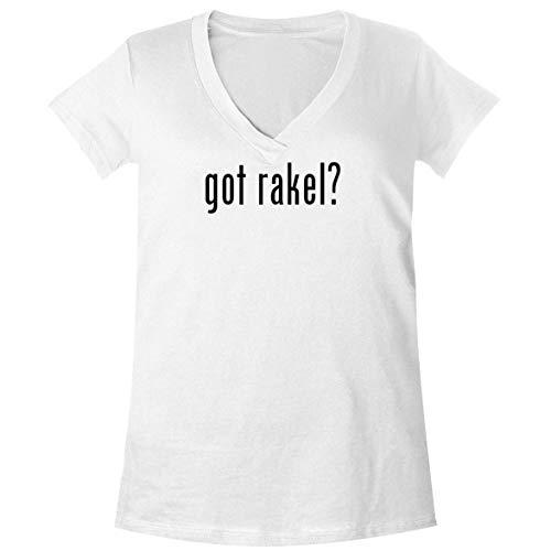 The Town Butler got Rakel? - A Soft & Comfortable Women's V-Neck T-Shirt, White, XX-Large
