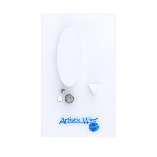 (Artistic Wire Beadalon Findings Forms Oval Ear Wire Jig)