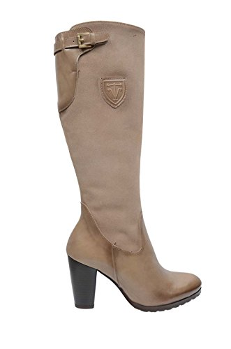 Vitti Love - Stiefel 3550-109 - Braun, 40, 1, 8 cm, Leder