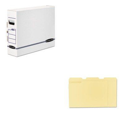 Bankers X-ray Box (KITFEL00650UNV12113 - Value Kit - Bankers Box X-Ray Storage Box (FEL00650) and Universal File Folders (UNV12113))