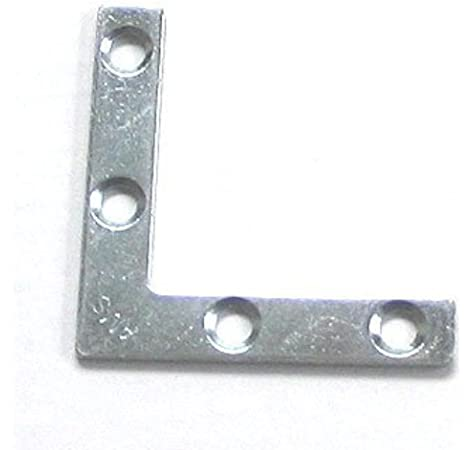 M6-018 BRASS PICTURE FRAME CORNER PROTECTOR BRACKETS reinforced mounting