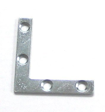 - 50 Frame 2 Inch Metal Re-enforcing Corner Angle Plate