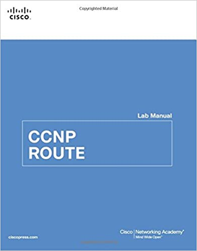 ccnp route lab manual lab companion 9781587133039 computer