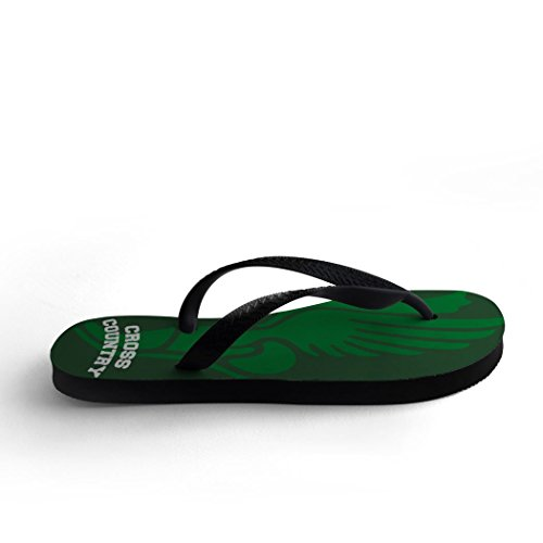 Flops Winged Flip Field Green and Cross Track Foot Country wPqRn7CnUt