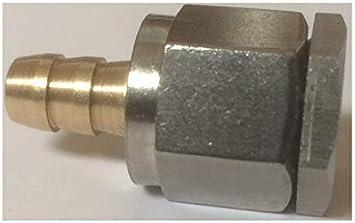 Fuel Rail Pressure Gauge Adapter Schrader Valve Opener Metric End M8x1.0