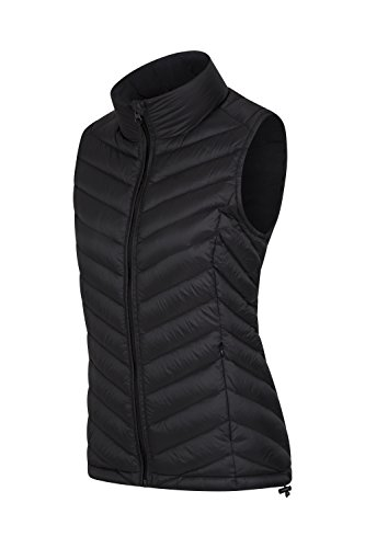 Lightweight Jacket Down Casual Jacket for Black Mountain Coat Down Water Featherweight Pockets Fill Warehouse Zipped Gilet to Resistant Vest Travelling Easy Pack Gilet wAqIzEq