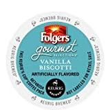 Folgers Vanilla Biscotti K-Cups 24 Pack