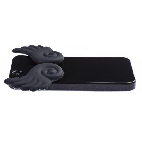 Zooky® schwarze Engel Flügel Hülle / Schutzhülle / Cover für Apple Iphone 5 / 5s
