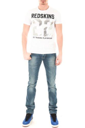 Redskins Herren T-Shirt Weiß Weiß