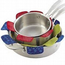 (Core 3 Piece Cookware Protector Set in Terracotta)