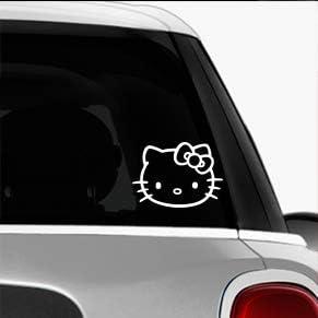 Hello Kitty SK8//Surf//Snow//Water//Bike//Brands Automotive Decal//Bumper Sticker