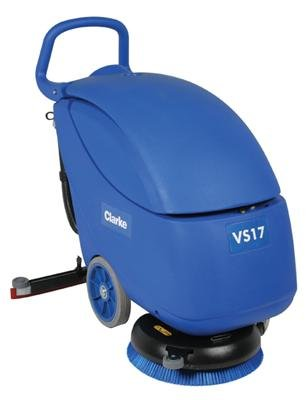 Clarke 56383228 Vantage 17 Battery Operated Compact Autoscrubber, 17
