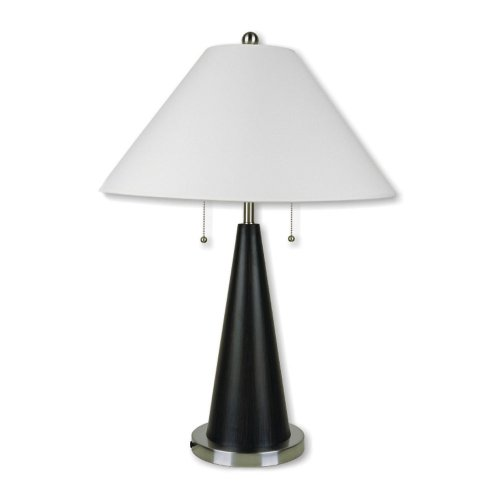 ORE International 6238 28-Inch Metal Table Lamp, (Tone Finish Table Lamps)