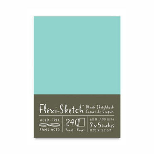 Flexi-Sketch Book 7X5 Pool by GLOBAL ART MATERIAL