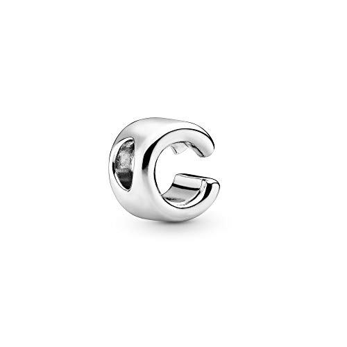Pandora Jewelry - Letter C Alphabet Charm in Sterling Silver