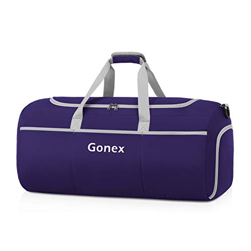 Gonex Foldable Duffel Sports Duffle New Version 70L Purple For Sale