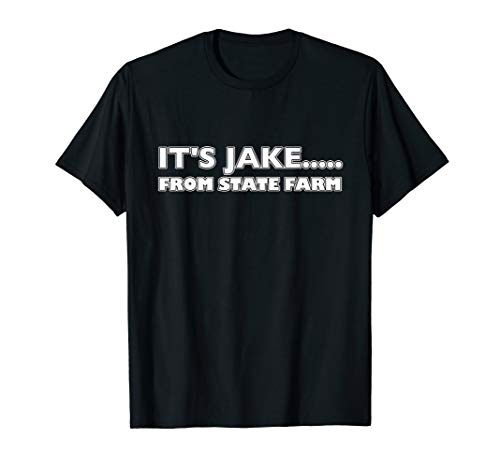 Halloween T-shirt - IT'S JAKE From State Farm -dark colours