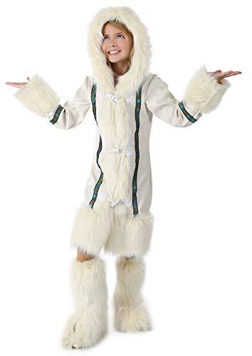 Princess Paradise Malia The Eskimo Costume, Multicolor, Tween