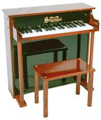 37 Key Traditional Deluxe Spinet White