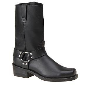 """Durango Men's 11"""" Harness Oil Resistant Motorcycle Boots,Bla"""
