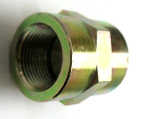.540-18 Threads .405-27 Threads X 1//4 Female Pipe Swivel 45 Elbow AF 9355-02-04-1//8 Male Pipe